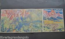 Pubblicità Montagna Sci Dolomiti  San Martino di Castrozza Pale Rolle 1930