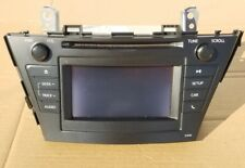 2012-2014 Toyota Prius AM FM CD Player Display Screen Radio 57011 OEM