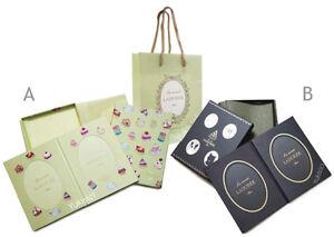 Laduree Japan Ltd Macaron Cup Cakes or Animals Print Photo Frame Set +Bag-A/B