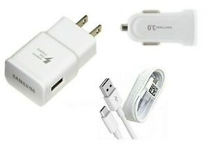 SAMSUNG FAST WALL,USB-C,CAR ADAPTER FOR SAMSUNG GALAXY NOTE 8,9,S8,S9+,S10,S10+