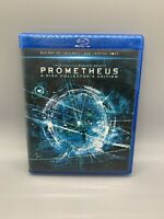 Prometheus (Blu-ray/DVD, 2012, 4-Disc Set, Collectors Edition 3D) A
