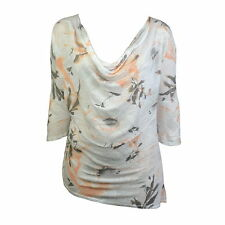 Cowl Neck Regular Size Batwing Tops & Shirts for Women