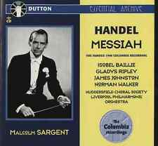 Sir Malcolm Sargent conducts Handel MESSIAH THE FAMOUS 1946 COLUMBIA RECORDING