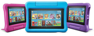 New Amazon Fire 7 Kids Edition Tablet 16GB ,7 Inch Display Latest 2019 UK Model!