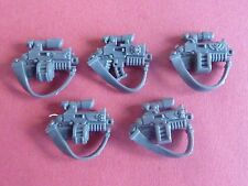Space Marine STERNGUARD VETERAN 5 X BOLTERS with STRAPS & SCOPES - Bits 40K