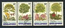 Singapur 1976 Mi. 246-249 Gestempelt 100% Bäume