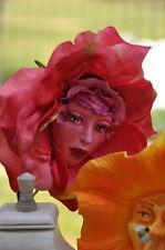 "ALICE IN WONDERLAND TALKING FLOWERS SPRING FEVER ""ROSY PETALS"" SUTHERLAND"