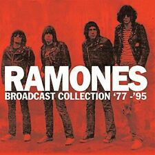 ramones: broadcast collection '77-'95   9 CD boxset   /free shipping by courier/