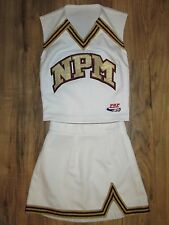 SWEET Authentic Youth Cheerleader Uniform Cheer Outfit Costume Size 28/22 White