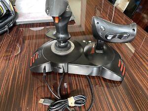 Thrustmaster T-flight Hotas X Flight Joystick Throttle Simulator PC PS3 Gaming