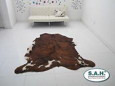 NEW LARGE Cowhide Rug BRINDLE SAH Cow Hide Leather Carpet $ 129 Skin Carpet