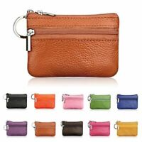Genuine Leather Car Key Holder Casual Women Fashion Keyring Coin Purse Wallet