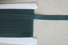 Bias binding Bottle green Poly Cotton 25mm(1inch) x 15m