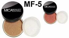 Mica Beauty Foundation Powder MF-5 Cappuccino + Blush MB2