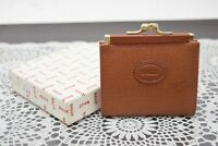Authentic Bally Coin Purse  Browns PVC 40623