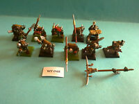 Warhammer Fantasy - Orcs & Goblins - Orc Spearmen x10 with Command Group - WF48