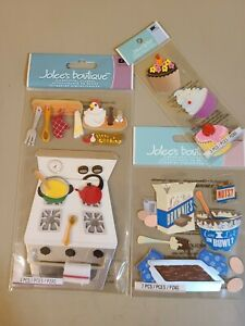 3 Packages Of Jolee's Boutique Cooking/Baking
