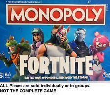 U-PICK choose Monopoly Fortnite replacement parts pieces - excellent condition