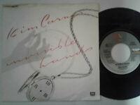 "Kim Carnes / Invisible Hands 7"" Vinyl Single 1983 mit Schutzhülle"