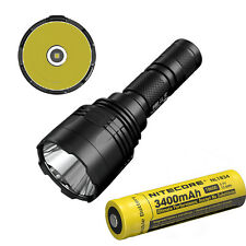 Nitecore P30 1000LM 618M Beam Distance Hunting LED Flashlight  w/ 3400 Battery