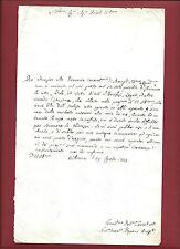 Manoscritto 1774 Spiegazioni per Sottrazione di Benefizi e Limosine in Villanova
