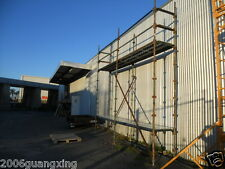 scaffold kwikstage steel brand new standing height 3.5m width 0.75m length 5m