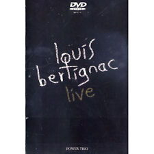 22872 // LOUIS BERTIGNAC LIVE POWER TRIO 2 CONCERTS 36 TITRES NEUF