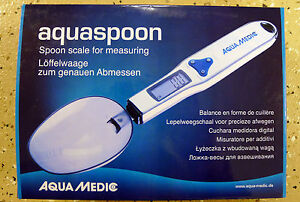 Aqua Medic Aquaspoon, scale designed for measuring chemicals