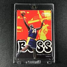 SHAQUILLE O'NEAL SHAQ 1998 SKYBOX THUNDER #13 BOSS EMBOSSED INSERT CARD LAKERS