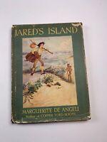 Jared's Island Marguerite de Angeli HB/DJ 1947 1st Ed
