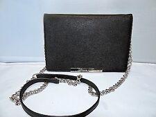 Michael Kors Lana Saffiano Convertible Travel Wallet / Clutch / Crossbody Bag