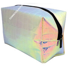 Technic Prism Cosmetic Bag Unicorn Rainbow  Mermaid Inspired Make Up Travel Bag