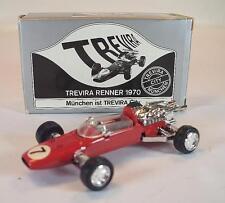 Schuco 1/66 Ferrari Formel 2 Renner München 1970 in silberner Trevira Box #1995