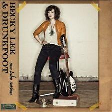 BECKY LEE & DRUNKFOOT - ONE TAKE SESSION  CD  8 TRACKS BLUES ROCK  NEU