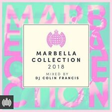 MARBELLA COLLECTION 2018 - MINISTRY OF SOUND 3 CD ALBUM SET (May 25th 2018)
