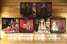 Star Wars The Black Series LUKE, REY, & KYLO 3 Exclusive Deluxe Figures & Stands