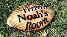 Custom Wood Football Sign