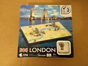 """4D Cityscape Puzzle. Mini Series. London. 174 pc.. 14""""x8"""". 70002. New, Open Box."""