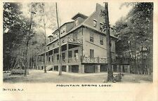A View of Mountain Spring Lodge, Butler NJ 1907
