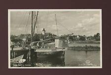 Sweden AMAL Parti av Hammen Fishing boat c1950/60s? RP PPC