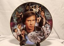 Hamilton Collection 1997 Limited Edition Star Wars Han Solo Plate 0440C