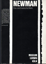 Barnett NEWMAN. Das zeichnerische Werk. Museum Ludwig Köln, 1981.
