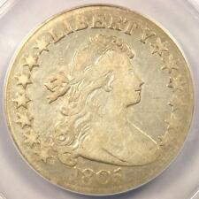 1805 Draped Bust Half Dollar 50C O-112 - ANACS F15 Details - Rare Certified Coin