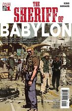 SHERIFF Of BABYLON issue 1 NM 1st print TOM KING batman VISION DC Comics