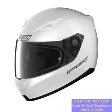 Casco Integrale Nolan N60-5 Sport Metal White 14 XXS