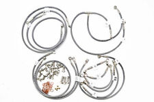 HONDA 1997-03 CBR 1100XX Blackbird GALFER FRONT / REAR / CLUTCH BRAKE LINE KIT