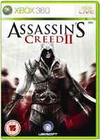 Xbox 360 - Assassins Creed II (2) **New & Sealed** Xbox One Compatible -UK Stock