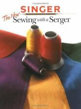 The New Sewing With a Serger Paperback Book How To DIY Sewing in EUC Upcycle