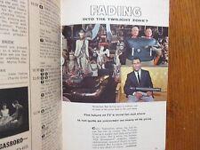 Jnu-1962 TV Guide(THE TWILIGHT ZONE/CAR 54, WHERE ARE YOU/FRED GWYNNE/PETER FALK