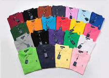 Mens Polo Ralph Lauren Short Sleeve Poloshirt Small Pony Custom Fit S-XXL
